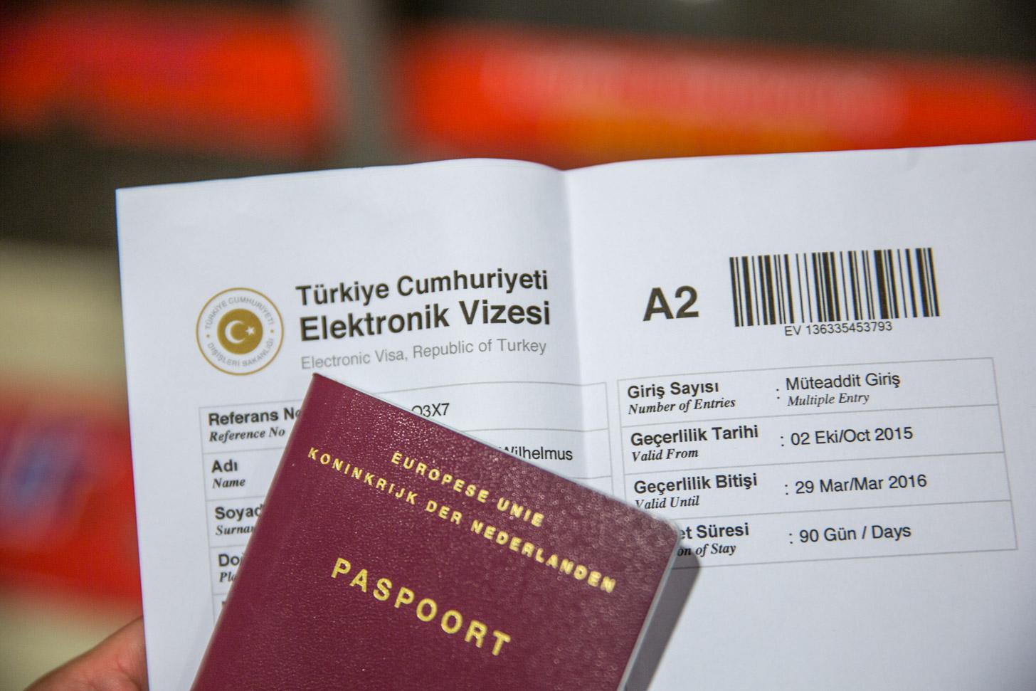 Visum en paspoort